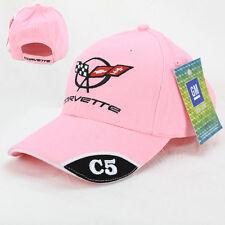 Chevrolet Chevy Corvette C5 Logo Basecap Mütze Trucker Baseball Cap Pink Rosa