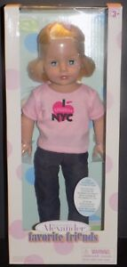 MADAME-ALEXANDER-FAVORITE-FRIENDS-GRAND-CENTRAL-NYC-18-034-PLAY-DOLL-68260-NMIB