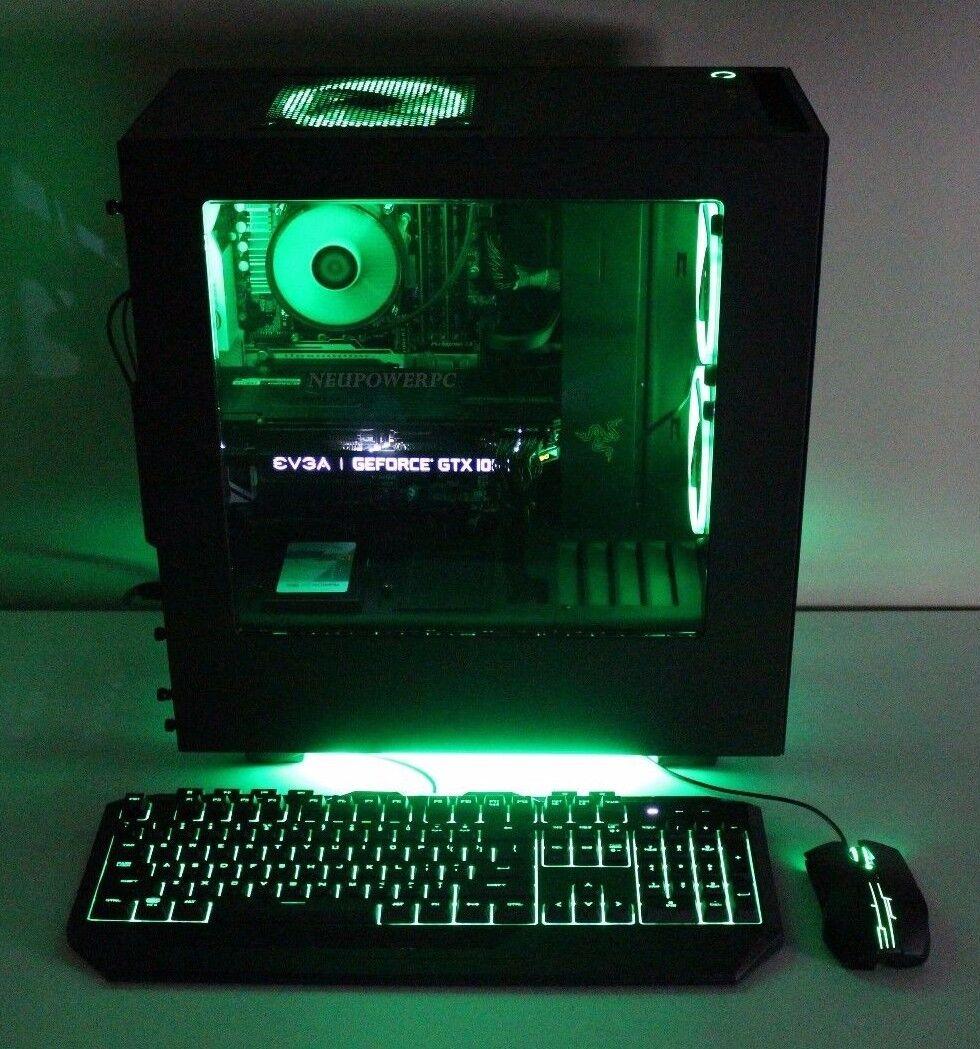 Razer Gaming PC i7 7700k 8GB 1TB SSD HDD GTX 1070 8GB Custom