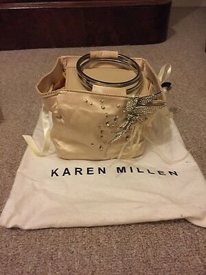 "Karen Millen Champagne Raso Evening Bag-impreziosito. Fab Articolo Infatti. Con Borsa-d .fab Item Indeed.with Bag"" Data-mtsrclang=""it-it Mostra Il Titolo Originale Smoothing Circulation And Stopping Pains"