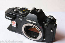 Konica FS-1 35mm Film SLR Camera Body - UNTESTED NO GRIP - PARTS K5