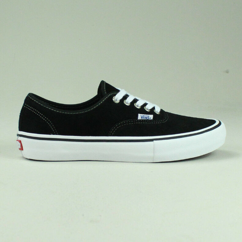 Vans Authentic Pro Trainers Brand New in Black/White UK Sizes 4,5,6,7,8,9,10,11