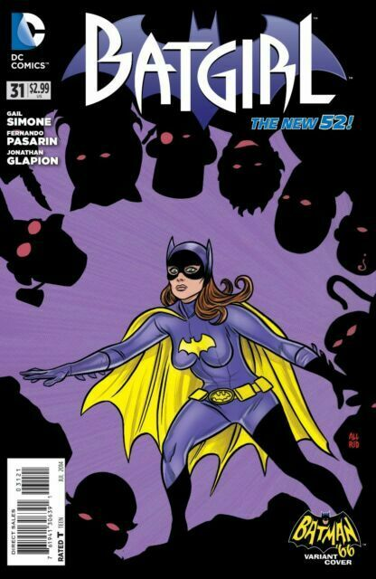 DC Comics BATGIRL #37 first printing cover B