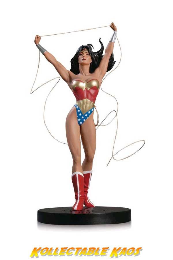 DC Diseñador Series-Mujer Maravilla estatua por Adam Hughes