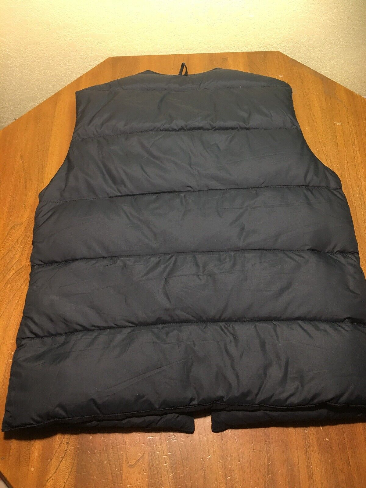 Barbour Men's Down Puffer Nylon Black Vest Size 4… - image 5