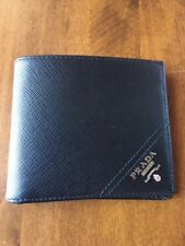 7579064e5ca6 item 2 New with Box AUTH Prada Black Saffiano Bi Fold Men s Leather Wallet  - no ID card -New with Box AUTH Prada Black Saffiano Bi Fold Men s Leather  Wallet ...