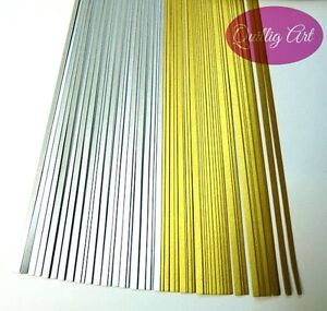 5mm Quilling Papers MIX Metallic SilverGold colours 150 Strips 350mm 120gsm - <span itemprop=availableAtOrFrom>Derby, Derbyshire, United Kingdom</span> - Returns accepted Most purchases from business sellers are protected by the Consumer Contract Regulations 2013 which give you the right to cancel the purchase within 14 days afte - Derby, Derbyshire, United Kingdom