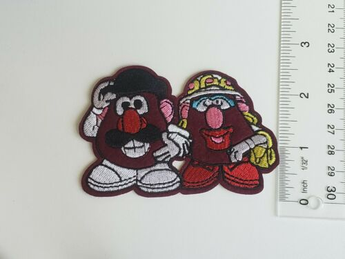 /& Mrs Potato Head Toy Story Embroidered Iron On Disney Mr Sew On Patch