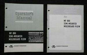 1969-Massey-Ferguson-034-Mf-880-Semi-Mounted-Moldboard-Pflug-034-Betreiber-Manuell