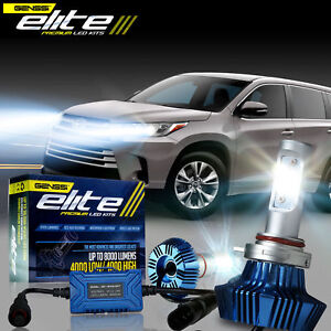 Image Is Loading Genssi Elite Led Headlight Bulb Conversion Kit For
