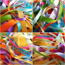 3mm - 25mm Spring Colours Double Satin Ribbons 10 X 1Mtr by Berisfords