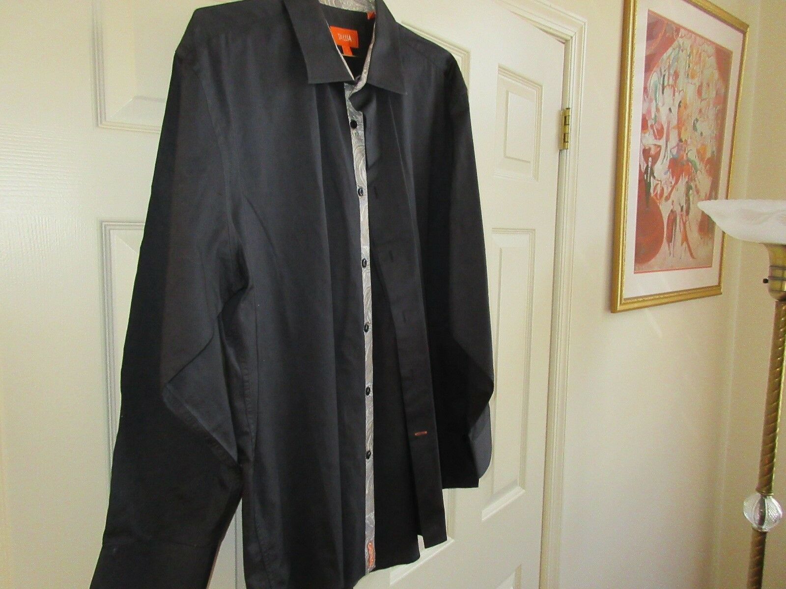 "Tallia, Men's Shirt , XL 171/2"" , Long Sleeves ,100% Co"