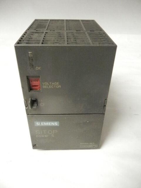 SIEMENS SITOP POWER 5 6EP1 333-1SL11 POWER SUPPLY 24VDC, 120V AND 230V