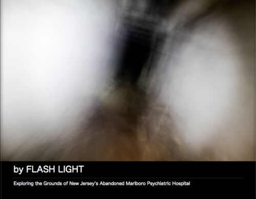 Independently Published Photography Collection of Marlboro Psychiatric Hospital