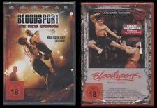 DVD BLOODSPORT 1 + THE RED CANVAS - 2 DISC SET - FSK 18 - JEAN-CLAUDE VAN DAMME