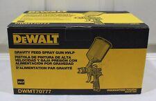 Brand New Dewalt Gravity Feed Spray Gun Hvlp Dwmt70777