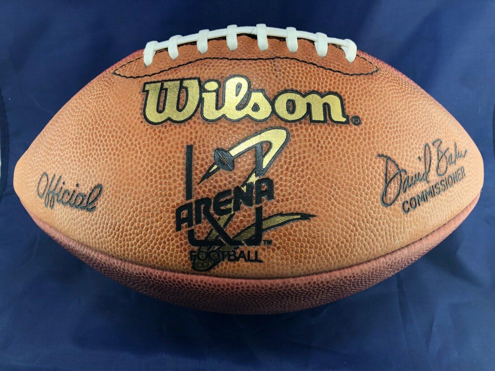 Official Arena League Football game ball Wilson Ironman