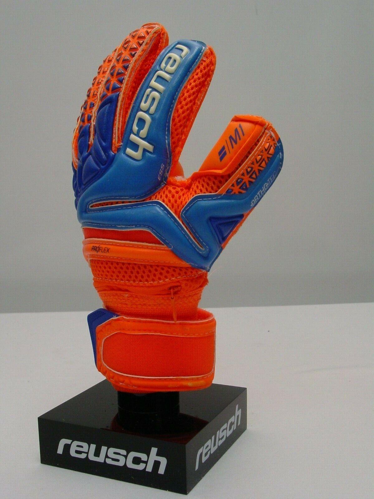 Reusch Fußball Fußball Fußball Torwarthandschuhe Prisma pro M1 Ortho Tec Finger Streben 3872150s 87ce4b