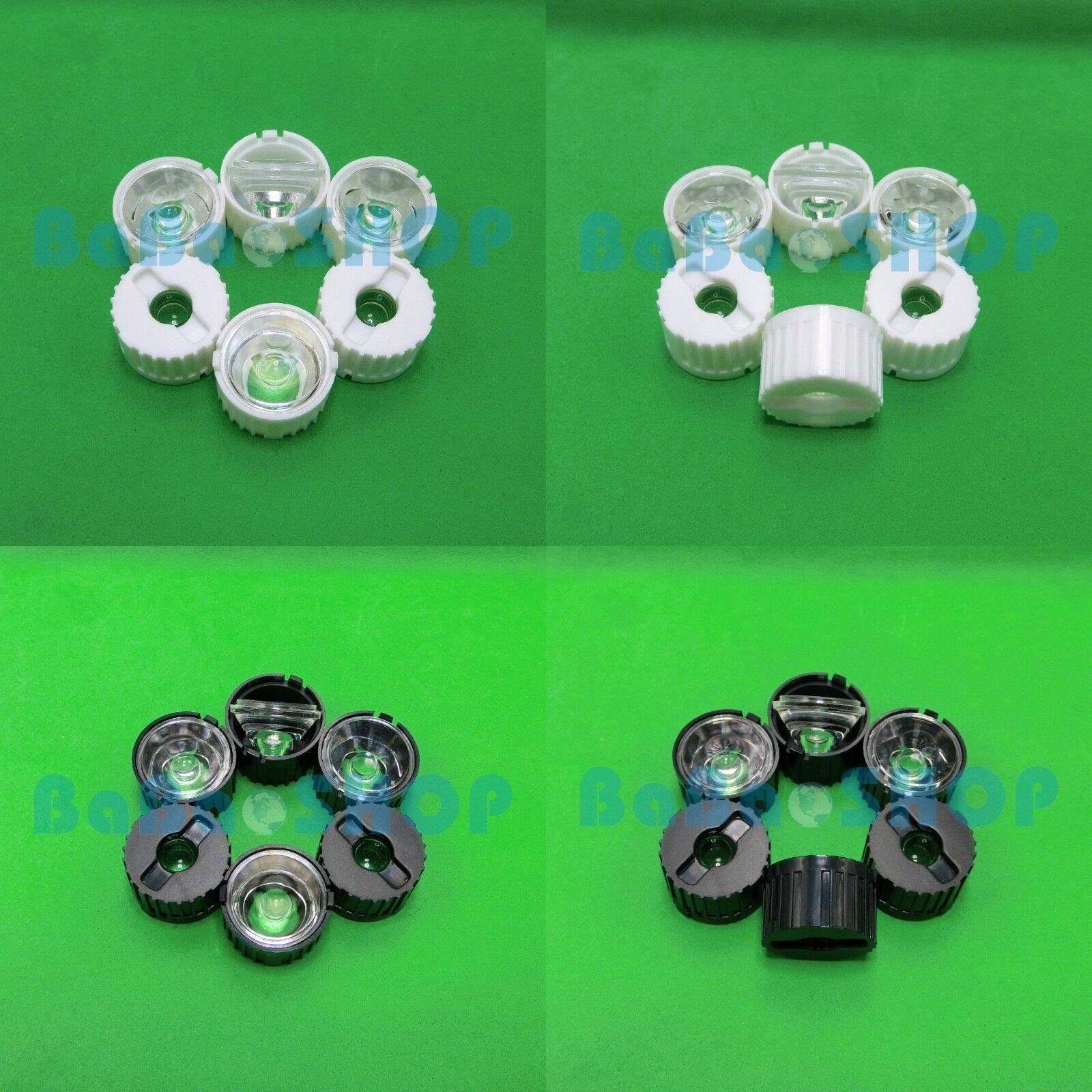 10600pcs 5 10 30 60 90 degree PMMA Lens 1W 3W 5W LED Lamp Light Spotlight Bulb