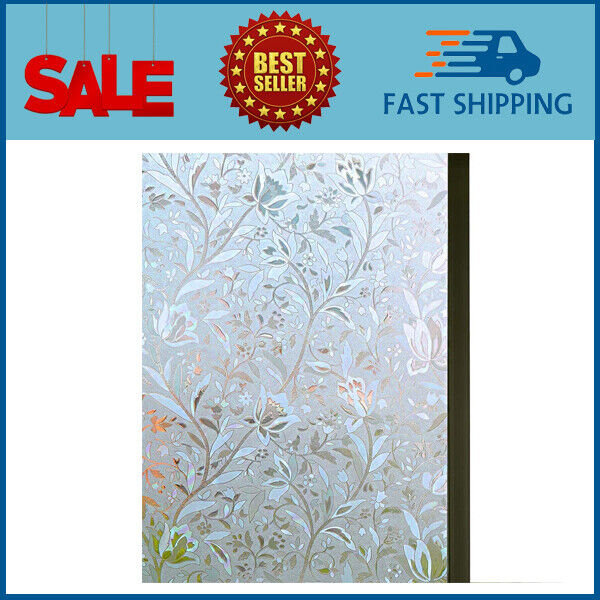 Excellent Quality 3d Static Cling Window Film Non Adhesive Covering Decorative