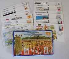 V76) Viaggio Di  S.S. Giovanni Paolo II  Indonesia - Corea - Mauritius