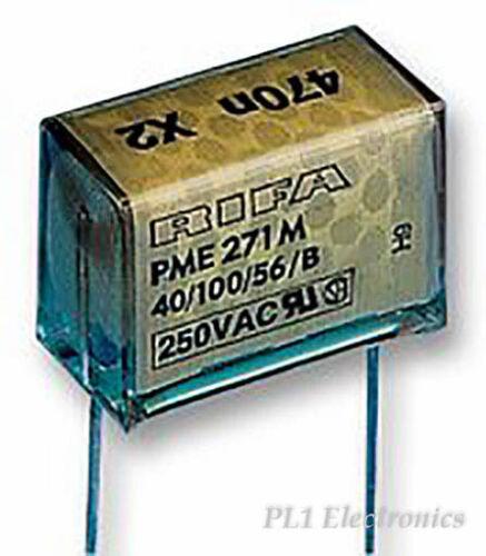 FILM PAPER CAPACITOR EVOX RIFA PME271M615K 150NF CLASS X2 0.15UF