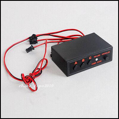 LED flash light Flasher Strobe Controller Box 6  Ways