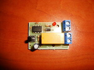 PUSH BUTTON DC MOTOR REVERSE POLARITY SWITCH DPDT RELAY MODULE 2A
