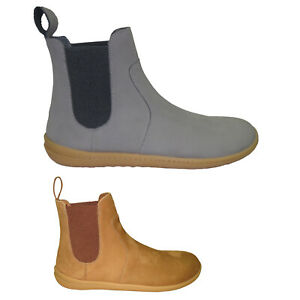 Vivobarefoot Womens Boots Fulham Casual Pull-On Ankle Chelsea Nubuck