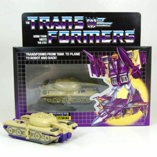 Transformers TRIPLE CHANGER BLIZWING Decepticon G1 REISSUE BRAND IN BOX New