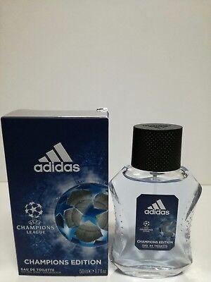 Esperar algo Explícitamente solicitud  Adidas UEFA Champions League Champions Edition Eau de Toilette 50ml spray  3614223936700   eBay