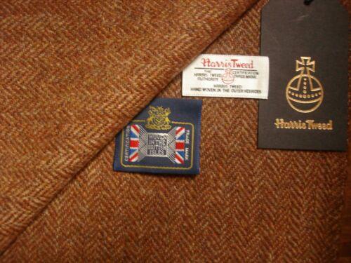 "Harris Tweed 100/% laine /""tissés à la main en tweed/"" pose de la jaquette Tissu Made in Scotlan 2.3 M"