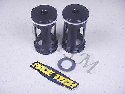 RACE TECH BILLET METAL ALUMINUM KYB FORK DUAL CHAMBER FREE PISTON SET 0038-001