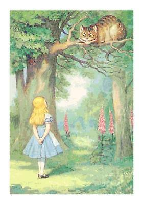 Alice in Wonderland Rocking Horsefly DIGITAL Counted Cross Stitch Pattern Chart