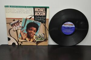 Michael-Jackson-Looking-Back-to-Yesterday-1986-LP-5384ml-Motown-VG