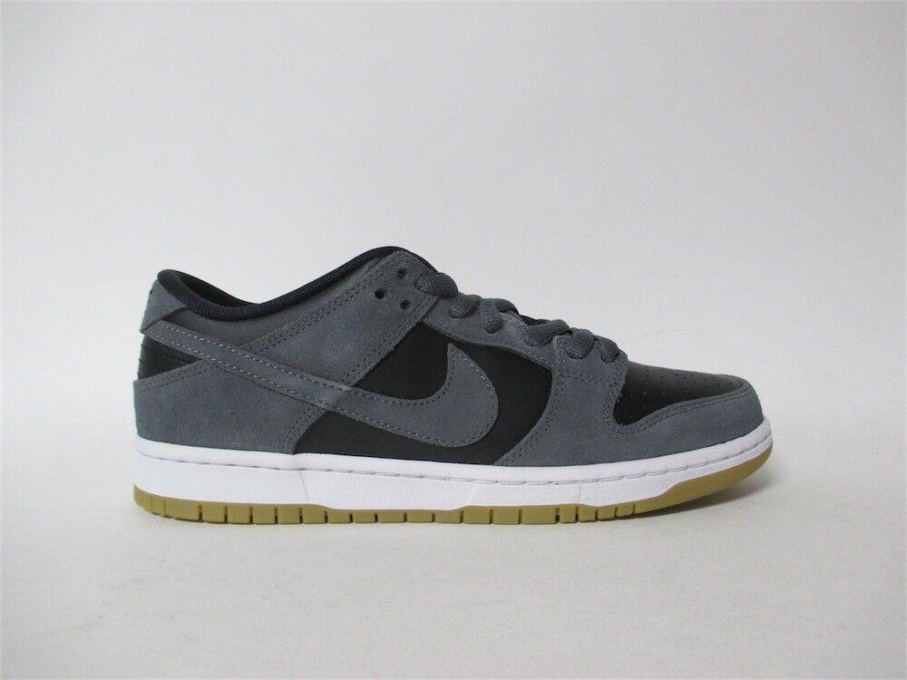 Nike SB Dunk Low Dark Grey Black White Gum TRD Sz 7.5 AR0778-001