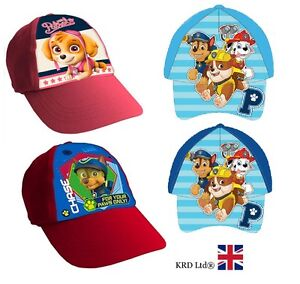 new product a73e5 251c7 Image is loading Kids-PAW-PATROL-Character-Baseball-Cap-Boys-Girls-