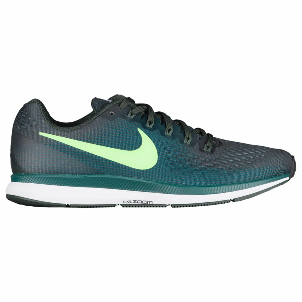 Nike Air Zoom Pegasus 34 Mens 880555-301 Outdoor Green Running shoes Size 12
