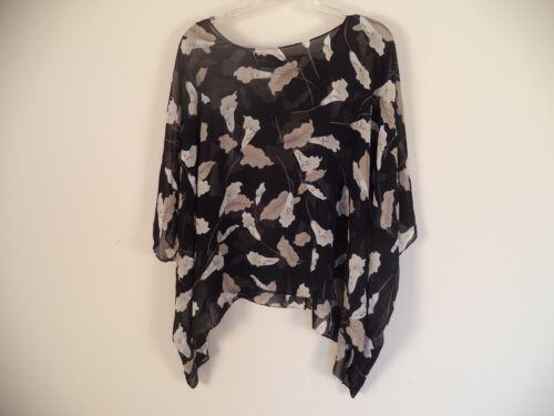 Dames BlackOmkeerbaar Dames Harbor16w100PolyesterFloral blouseSag Harbor16w100PolyesterFloral BlackOmkeerbaar blouseSag Ov8Nn0wym