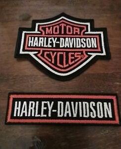TOPPE-PATCH-RICAMATA-TERMOADESIVA-HARLEY-DAVIDSON