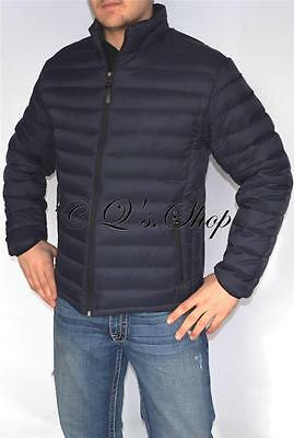 NEW Mens Authentic Cole Haan Down Jacket Blue Size 2XL XXL NWT