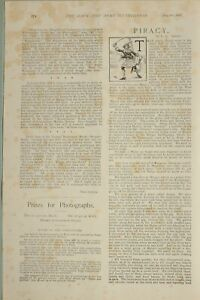 1897-PRINT-NAVY-amp-ARMY-EDITORIAL-ARTICLE-PIRACY