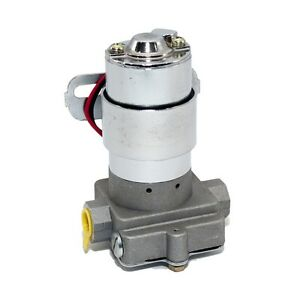 Universal-115GPH-Electric-Fuel-Pump-7PSI-Red-Muscle-Car-Hot-Rod-Racing-SBC-BBC