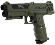 New Tippmann TIPX Pistol Tactical Woodsball Mil Sim Paintball Gun Marker - Olive