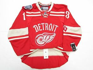 Image is loading DATSYUK-DETROIT-RED-WINGS-AUTHENTIC-2014-WINTER-CLASSIC- a16997b6a