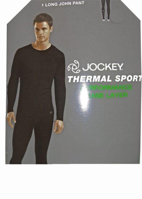 e77466bd99233 Jockey Men's Thermal Long John Pants Solid White Size XL for sale ...