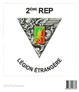 Autocollant-du-2-REP-2-Regiment-Etranger-de-Parachutistes-LEGION-ETRANGERE-Calvi