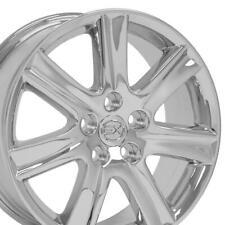 17 Rims Fit Lexus Es 350 Style Chrome Wheels 74190 Set Fits 2011 Toyota Camry