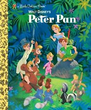 Little Golden Book: Peter Pan by Random House Disney Staff and J. M. Barrie (2007, Hardcover)