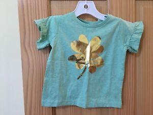 NWT Gymboree Aqua Basic Tee Shirt Top Toddler Girl